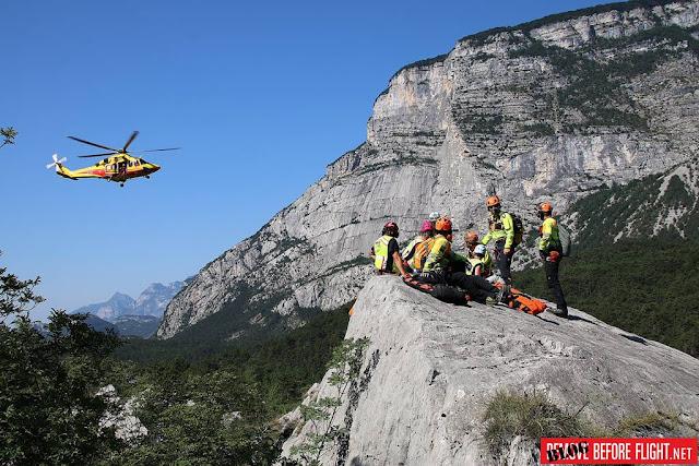 Nucleo Elicotteri Trento Mountain Heroes