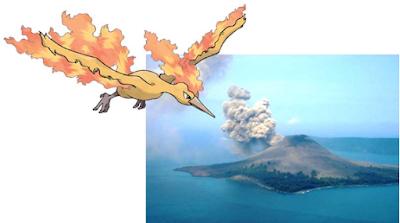 Moltres Anak Gunung Krakatau