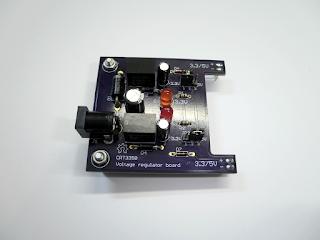 Circuito regulador de tensão CRT3350.