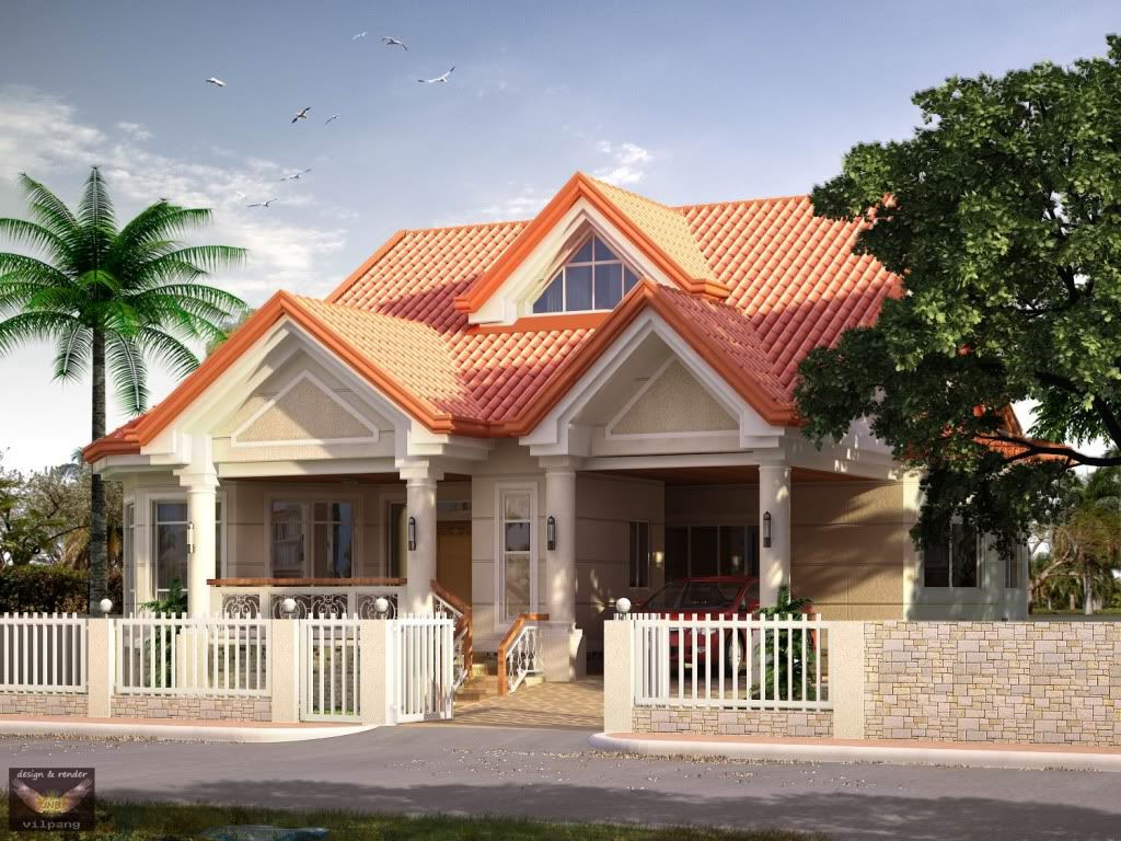Bahay ofw for Elevated modern house design