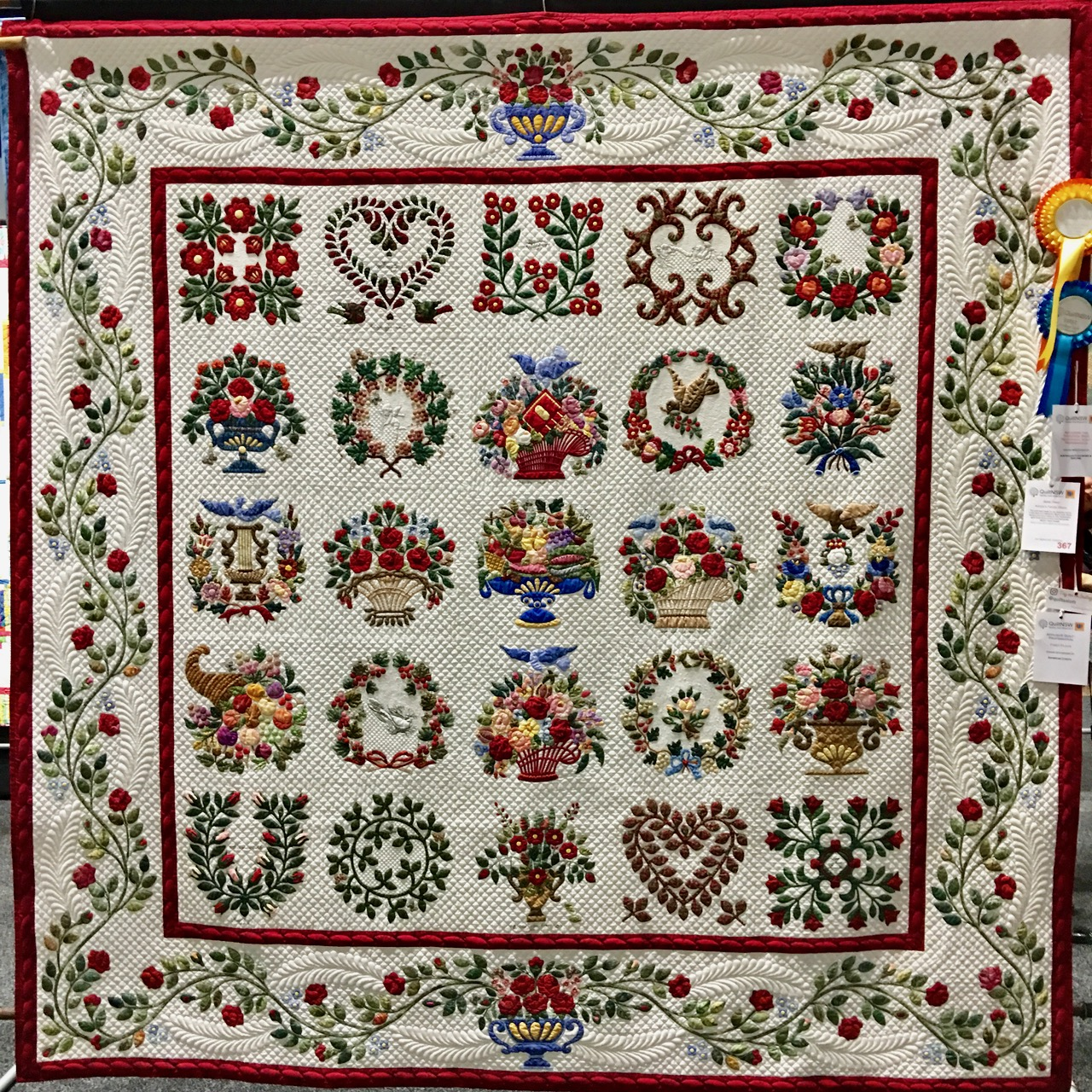 Amazing Quilts: More Amazing Quilts From The 2017 Sydney Quilt Show