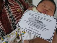 """Lahir 17 Agustus 2017, Bayi ini Diberi Nama """"Indonesia"""""""