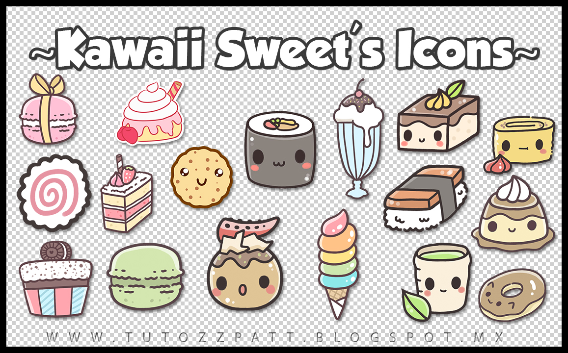 ♦TutozzPatt♦: Iconos Kawaii