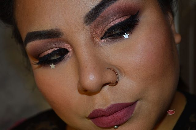 Arabic Makeup with Desert Dusk by Huda Beauty