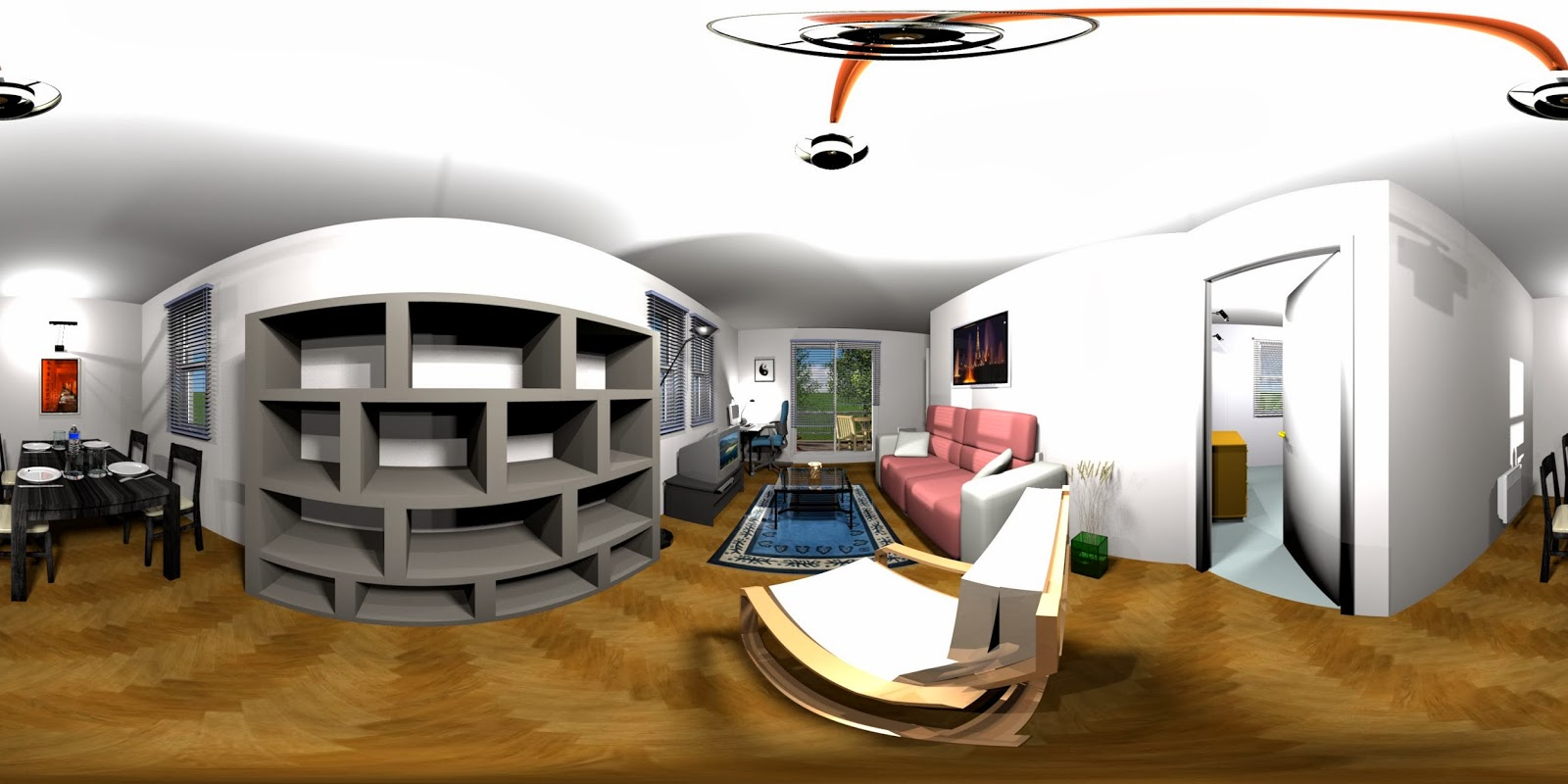 Dise o de interiores 3d gratis for Diseno interiores 3d