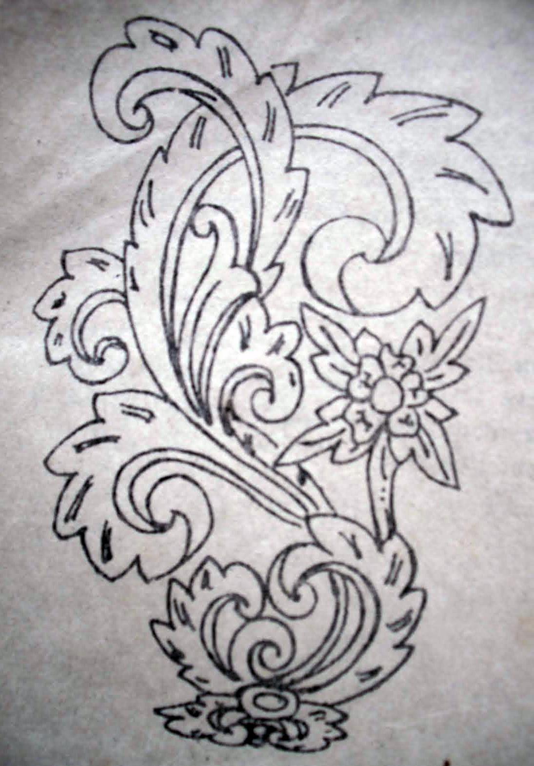 Contoh Gambar Ornamen : contoh, gambar, ornamen, Popular, Ornamen, Nusantara, Mudah, Tasya