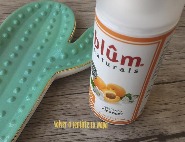Exfoliante para las pieles sensisbles de blûm naturals