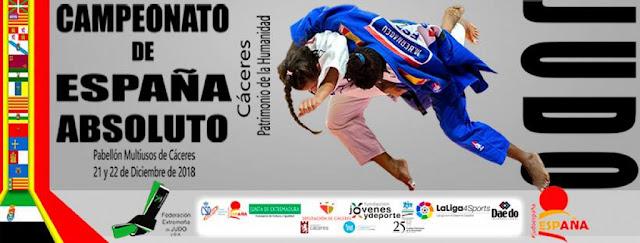 JUDO - Los nuevos campeones de España se proclamaron en Cáceres
