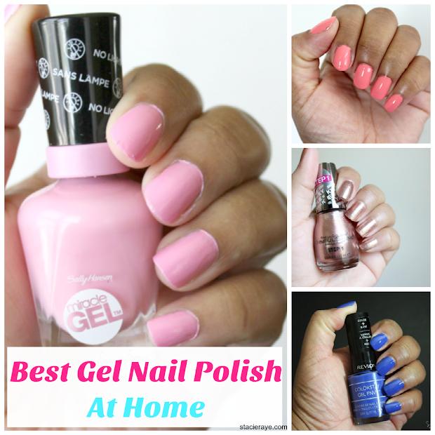 home gel nail polish