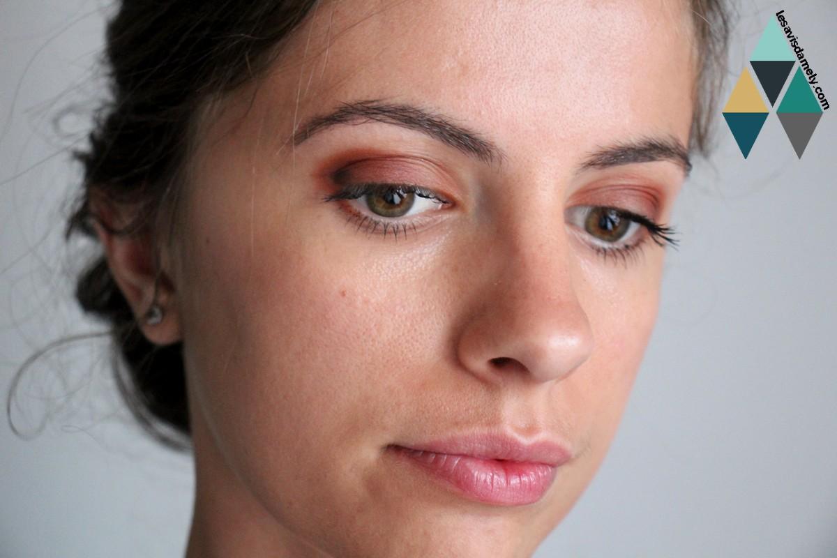 exemple makeup zoeva matte palette