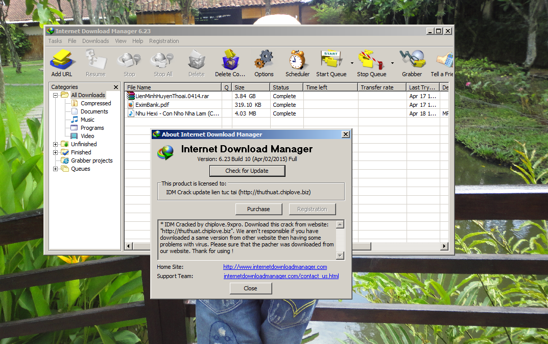Internet Download Manager ( IDM ) 6.23 build 11 Full Crack