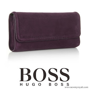 Crown Princess Mary carried Hugo Boss Clutch Bag