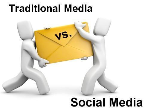 Image result for Mainstream Media Versus Social Media