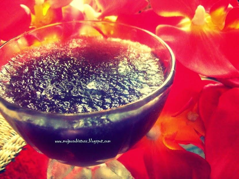 deser z herbaty