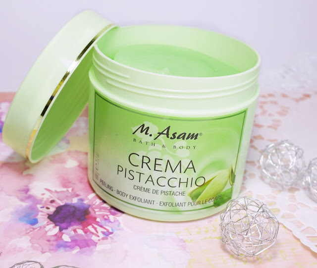 "M. Asam - Körperpeeling ""Crema Pistacchio"" - Rubbel dich sommerfit!"