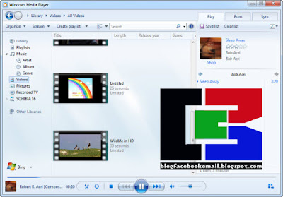 Bagi teman yang ketika ini masih suka memakai Windows Media Player sebagai aplikasi untu Cara Memutar Video Avi, 3GP, FLV / semua Format Video di Media Player