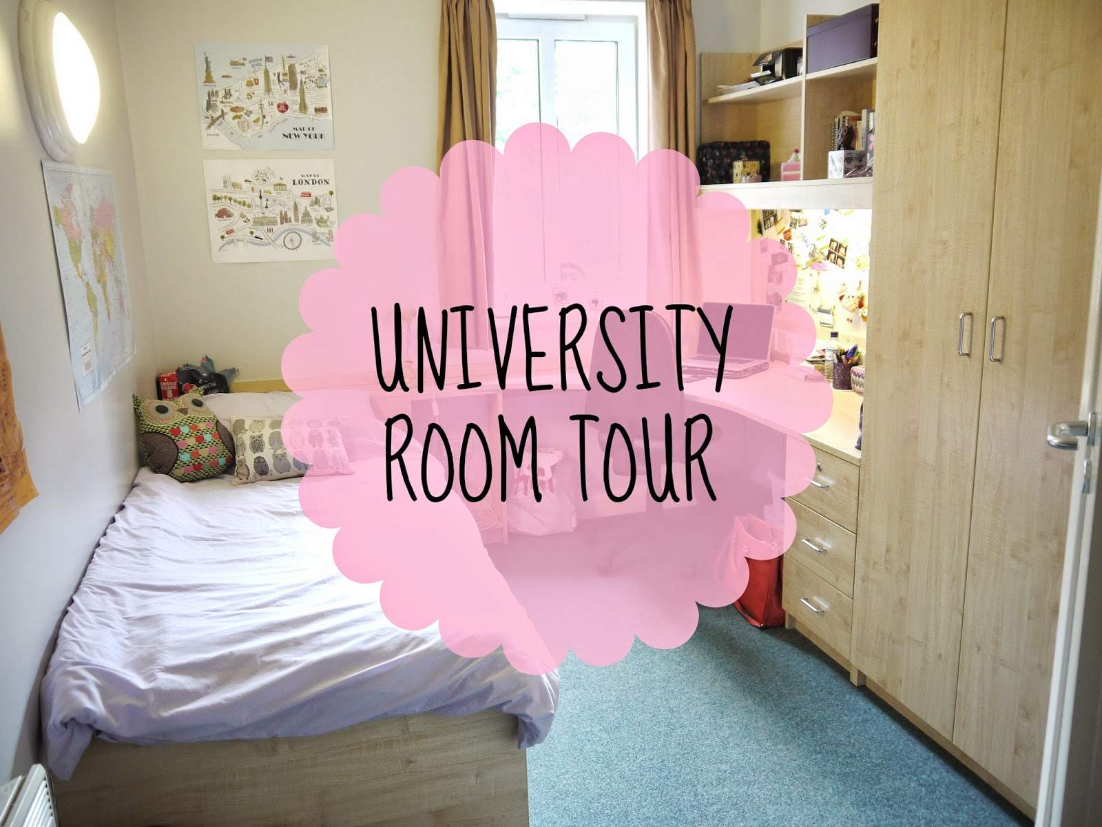 university room tour
