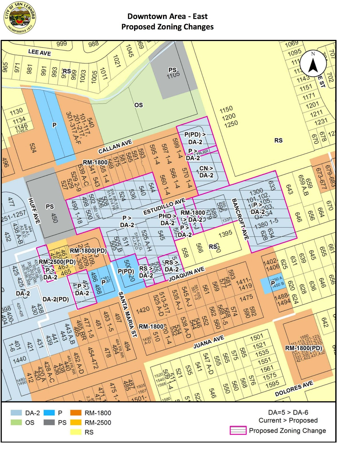 Proposed Changes To San Leandro Zoning Code Expand Downtown ... on parking map, business map, mashpee ma town map, streets map, india earthquake zone map, residential map, e zone map, survey map, climate zone map,