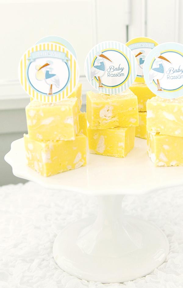 Recette Fudge Saveur Tarte Meringuée au Citron | BirdsParty.fr