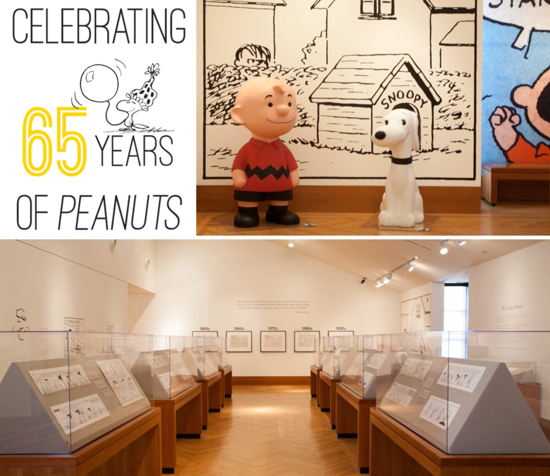 Peanuts 65th anniversary 2015