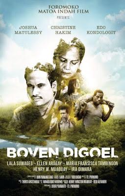 Film Boven Digoel Rilis Poster Resminya