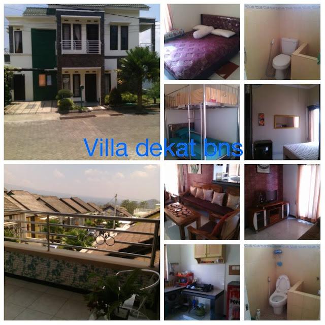 Villa Di Batu 4 Kamar - Villa Green