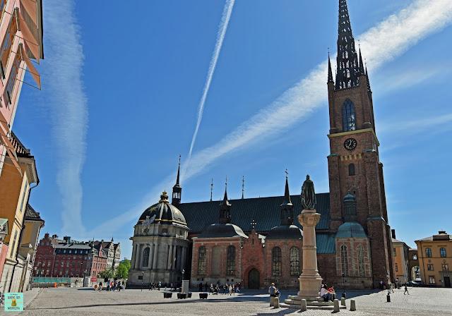 Iglesia Riddarholmskyrkan, Estocolmo