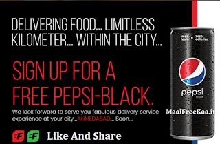 Free Sample Get Free Pepsi Black
