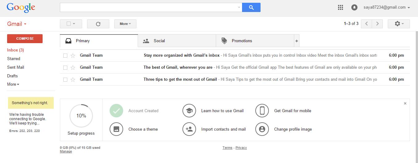 Cara Daftar Email Baru di Gmail   Pasarlajuh