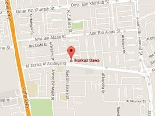 சவூதி மர்கஸ் Location Map