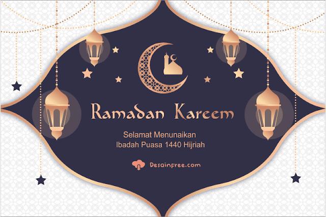 Contoh Banner Ramadhan Elegan