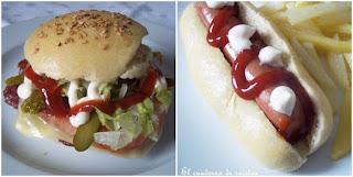Pan de hamburguesas & Perritos