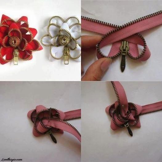 DIY : Bunga Zip