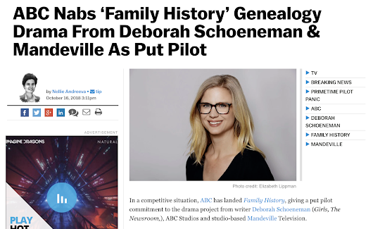 Genealogy Hits the Prime Time