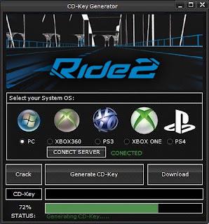 Ride 2 Key Generator (Free CD Key)