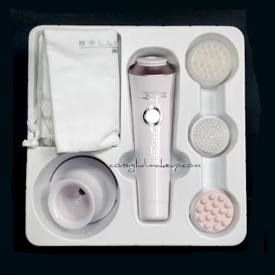 recensioni Cleanse & Massage Face System Bellissima Imetec