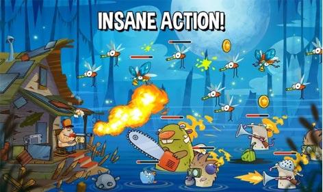 Download Swamp Attack MOD, Sudah versi Hack dan Banyak Unlimitednya