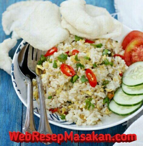 Nasi goreng teri medan, Resep Nasi Goreng Teri Medan, Cara membuat nasi goreng teri medan,