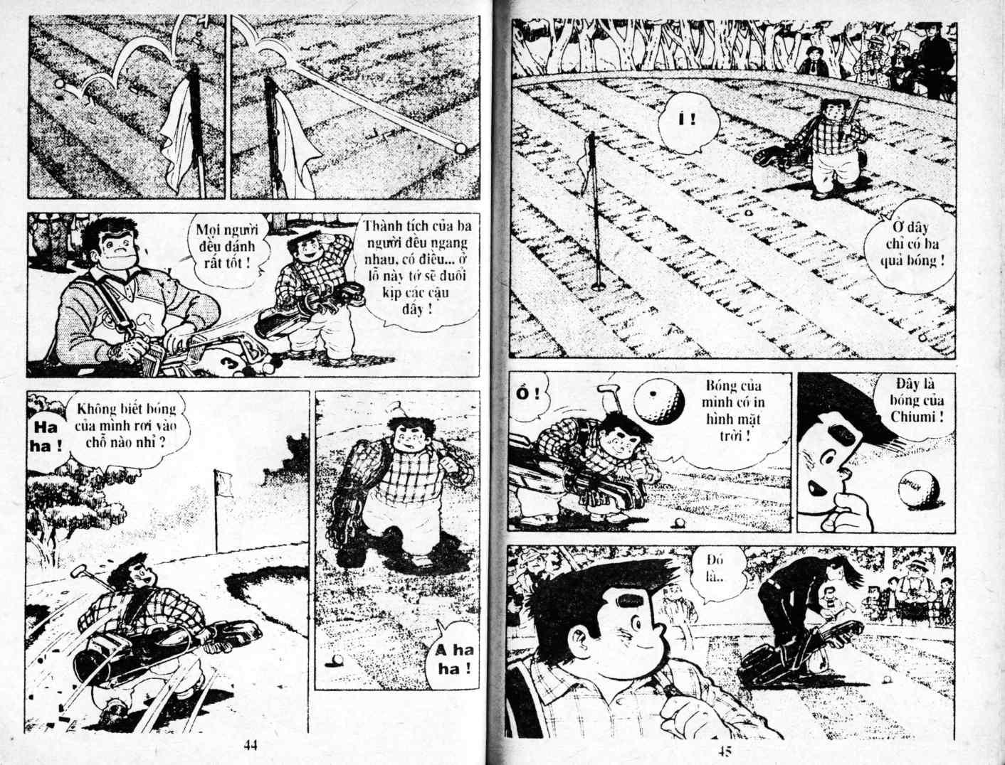 Ashita Tenki ni Naare chapter 4 trang 22