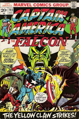 Captain America and the Falcon #165, Yellow Claw