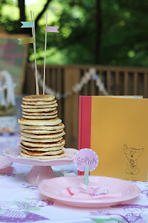 Pancakes and Pearls Birthday Party