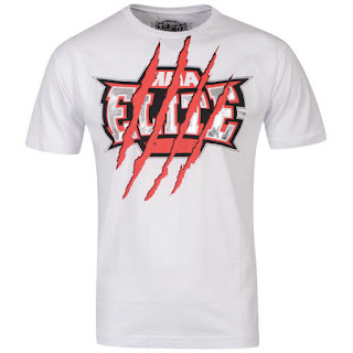 MMA Elite Men's Tear T-Shirt - White
