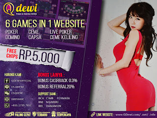 Hebat Bermain Judi Ceme Keliling Online QDewi.net