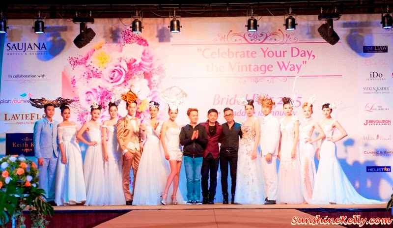 Celebrate Your Day, the Vintage Way, Bridal Fair 2015, The Saujana Hotel Kuala Lumpur, Wedding Planner, Wedding preparation, wedding, bride to be, Keith Kee Spring Summer 2015 Couture, Bridal Collection Showcase
