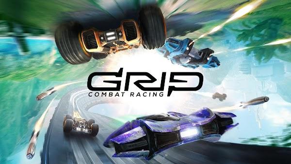 GRIP: Combat Racing menambahkan kendaraan anti-grav di pembaruan AirBlade