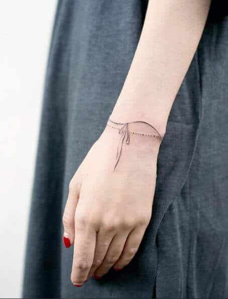 cross tattoo small