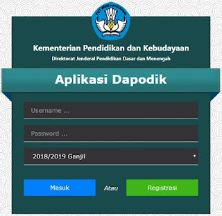 Download Aplikasi Dapodik Versi 2019
