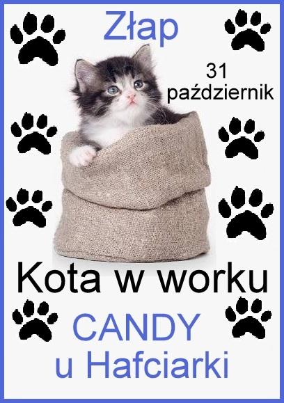 Candy Złap Kota w worku u Hafciarki