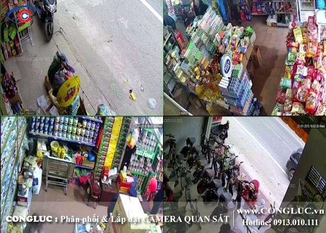 lắp camera giá rẻ tại Quận Kiến An Hải Phòng