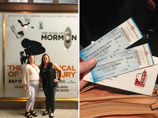 Shows to See: Book of Mormon @ the Fox - A Paper Arrow